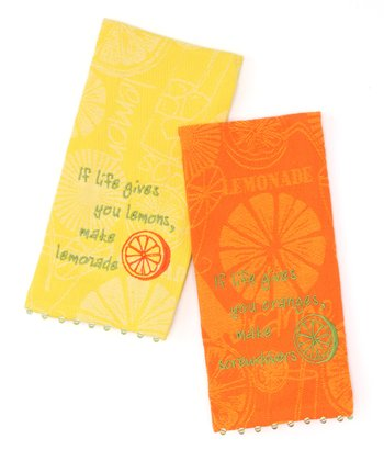 Fruit Guest Towel Set