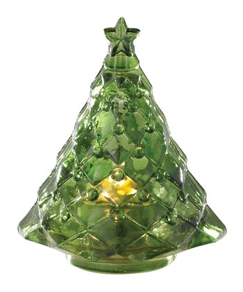 Split P Green Tree Tealight Holder