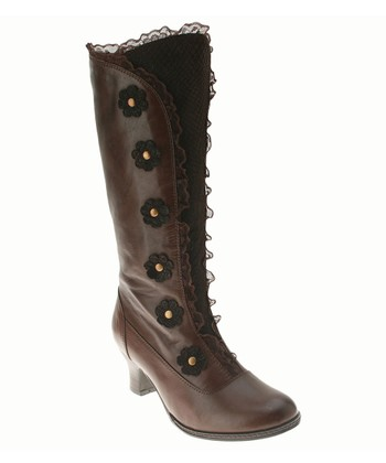 Brown Leather Heavenly Boot