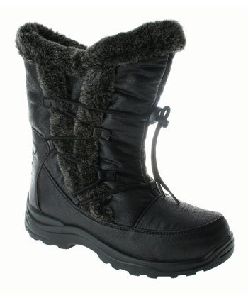 Spring Step Black Yukon Boot