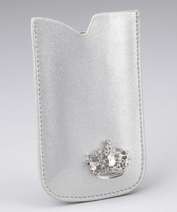 Silver Your Highness iPhone Case