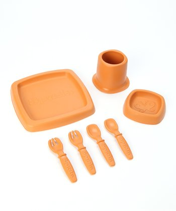 Orange Seedling Feeding Set