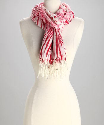Pink Gradient Safari Scarf