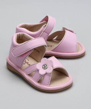 Light Pink Ava Squeaker Sandal