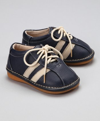 Blue Nathan Squeaker Shoe - Boys