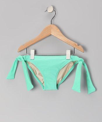 Squirtini Bikini Mint Mack Bikini Bottoms - Girls