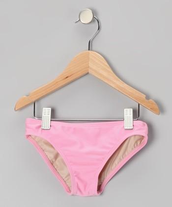 Squirtini Bikini Pink Mackenzie Hipster Bikini Bottoms - Girls