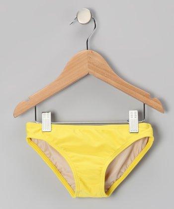 Squirtini Bikini Yellow Mackenzie Hipster Bikini Bottoms - Girls
