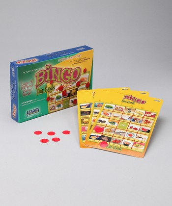 Stages Learning Materials Fun Foods Bingo