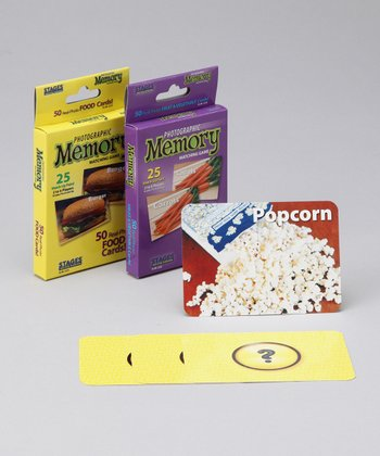 Stages Learning Materials Food & Fruit Memory Game Set