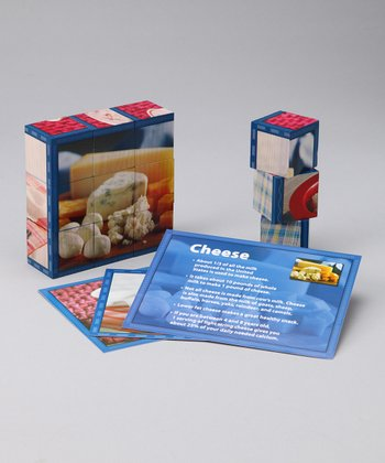 Stages Learning Materials Dairy Cube Puzzle