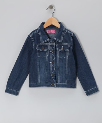 Dark Denim Jacket - Toddler & Girls