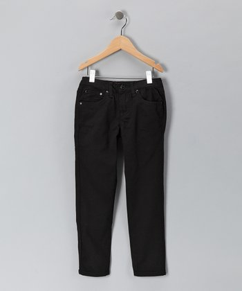 Black Skinny Jeans - Toddler & Girls