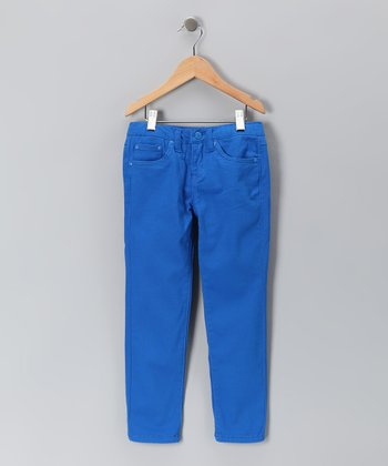 Royal Blue Skinny Jeans - Toddler & Girls