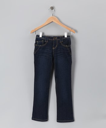 Dark Medium Denim Jeans - Toddler & Girls