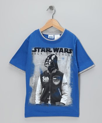 Star Wars Blue Darth Vader Tee - Kids