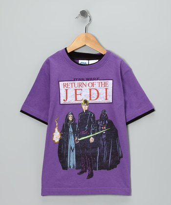 Star Wars Purple 'Return of the Jedi' Tee - Kids