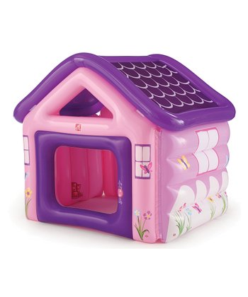 Purple & Pink Inflatable Playhouse