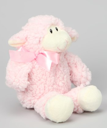 Pink Lamb Plush Toy