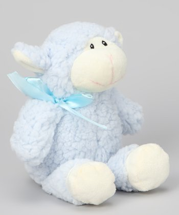 Blue Lamb Plush Toy