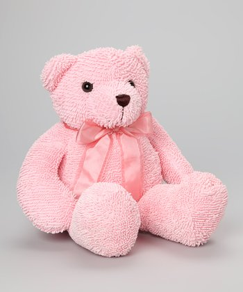 18'' Pink Bear Plush Toy