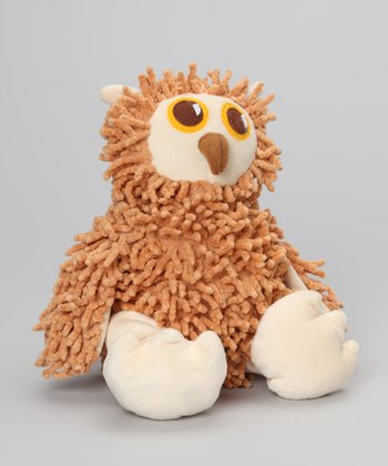 Brown Nublet Owl Plush Toy
