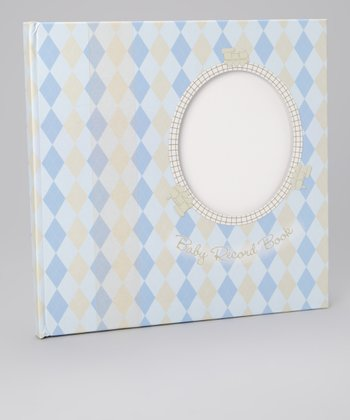 Blue Keepsake Baby Book