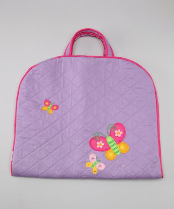 Butterfly Quilted Garment Bag