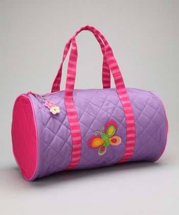 Butterfly Quilted Duffel