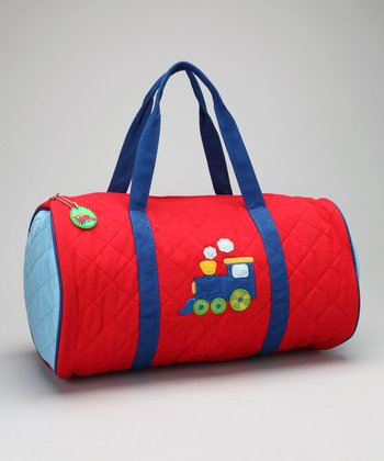 Train Quilted Duffel