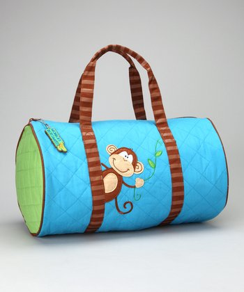 Monkey Quilted Duffel