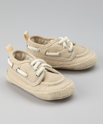 Tan Boat Shoe