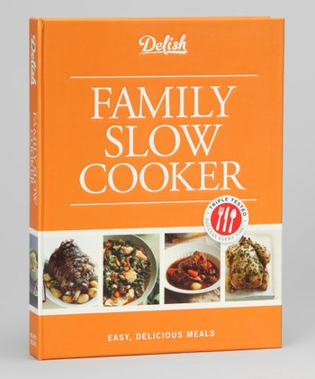 Delish Family Slow Cooker Hardcover