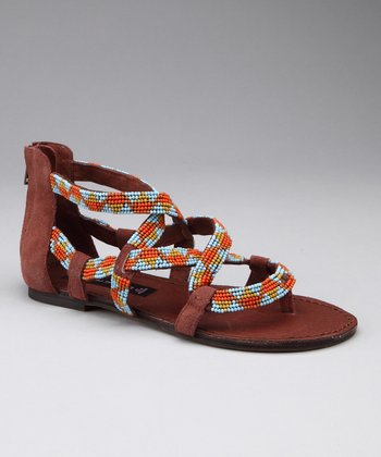 Blue & Orange Sariah Sandal