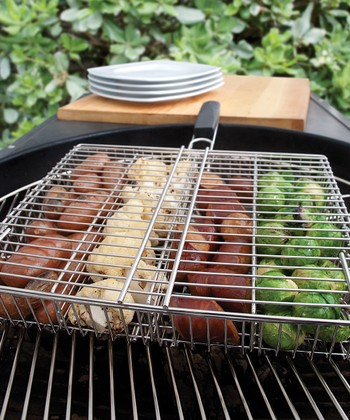 Four-Compartment Grilling Basket