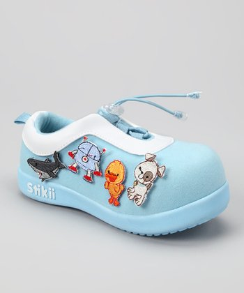 Baby Blue & Yellow Duck Sneaker