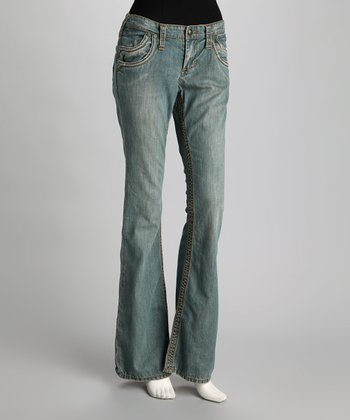 Crow Apache Flared Jeans - Women