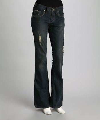 Blue Feather Cheyenne Flared Jeans