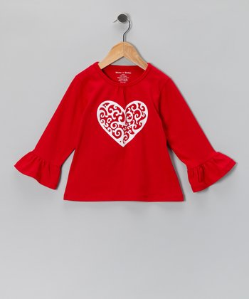 Red Heart Top - Infant & Toddler