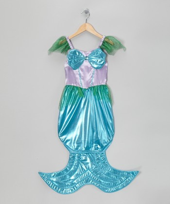 Purple & Blue Mermaid Dress-Up Outfit - Toddler & Girls