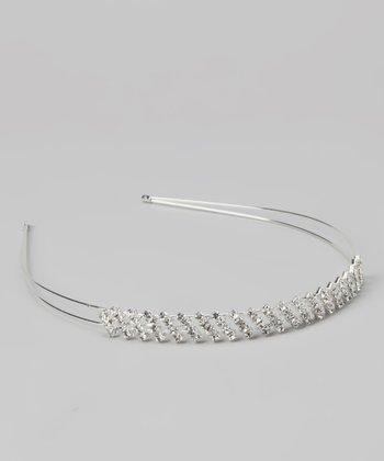 Silver Sparkle Diamond Tiara