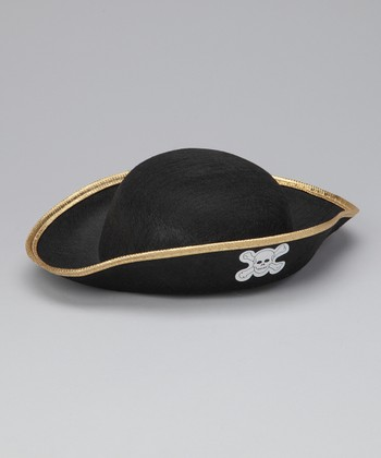 Black Pirate Hat