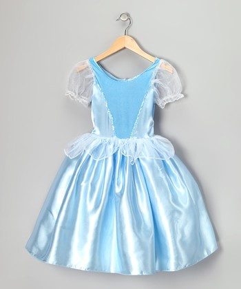 Blue Princess Party Dress - Girls