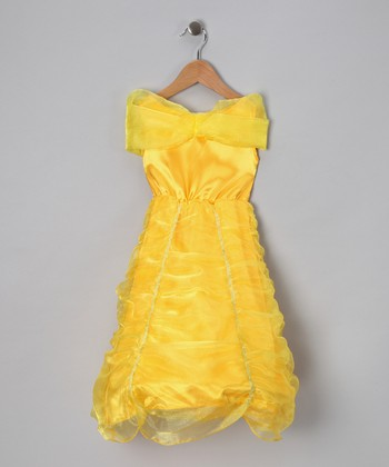Yellow Princess Hoop Dress - Toddler & Girls