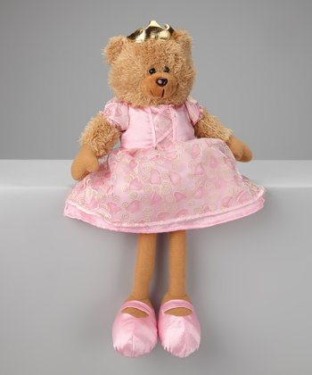 Pink Princess Teddy Bear