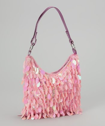 Light Pink Sequin Purse