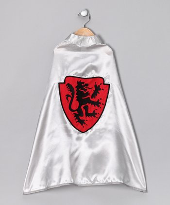 Silver Dragon Cape - Kids