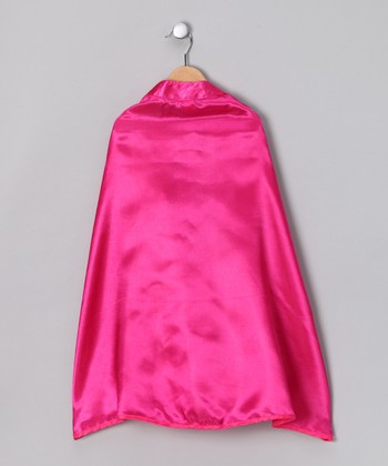 Hot Pink Cape - Toddler & Girls
