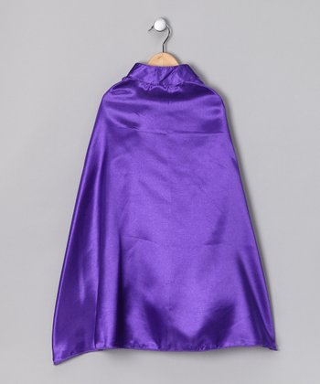 Purple Superhero Cape