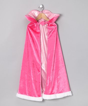 Pink Princess Cape - Girls